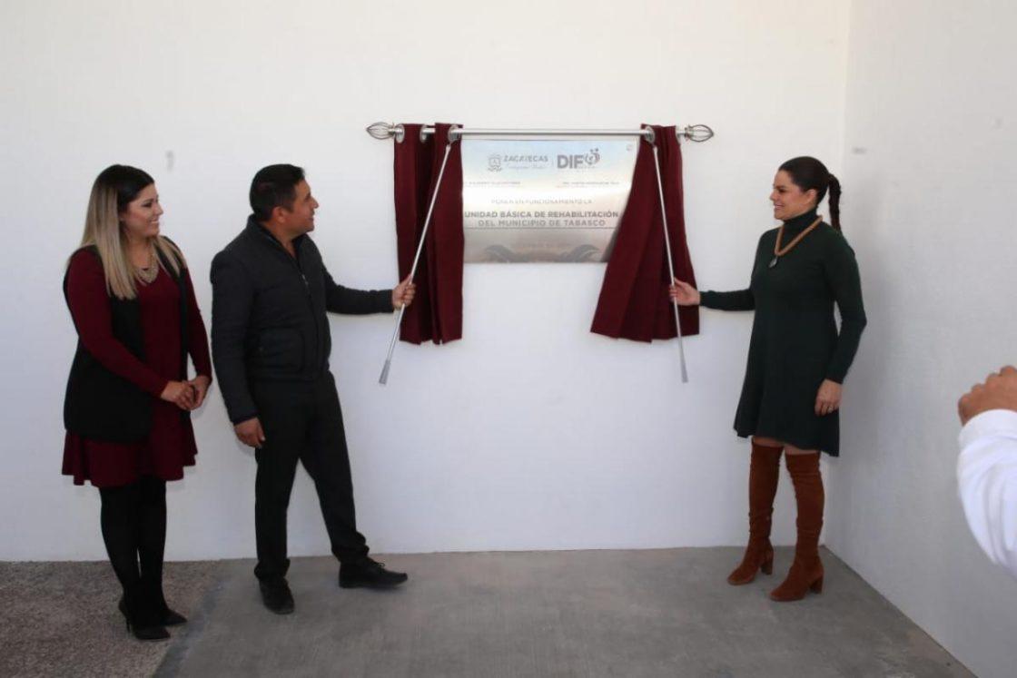 Foto de TIENE TABASCO NUEVA UNIDAD BÁSICA DE REHABILITACIÓN