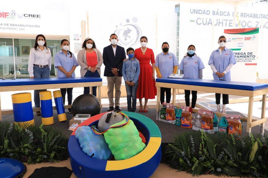 Foto de FORTALECE SEDIF UNIDADES DE REHABILITACIÓN EN CUAUHTÉMOC, PÁNFILO NATERA, GENARO CODINA Y OJOCALIENTE